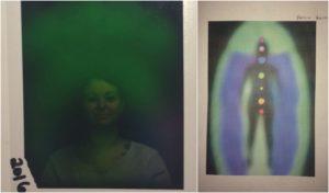 Bulgarian Rose Oil aura photo chakra scan