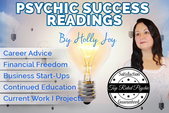 psychic reading I career success business