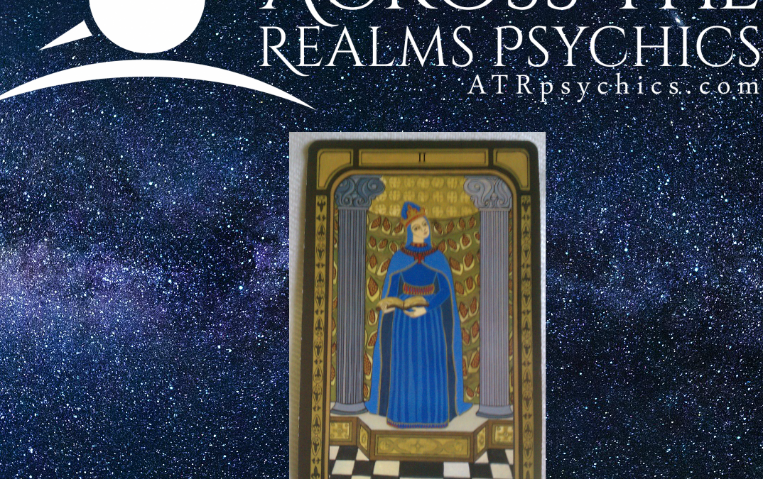 Upright & Reversed Meaning Of The High Priestess Major Arcana Tarot Card