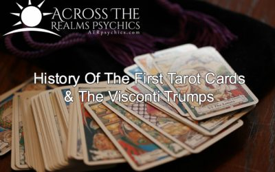 History Of The First Tarot Cards & The Visconti Trumps