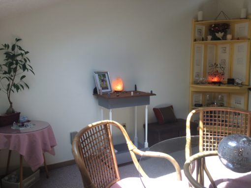 traverse city psychic medium Holly Joy Office Interior