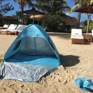 My Review Icorer Extra Large Instant Pop Up Portable Beach Cabana Festival Sun Shade