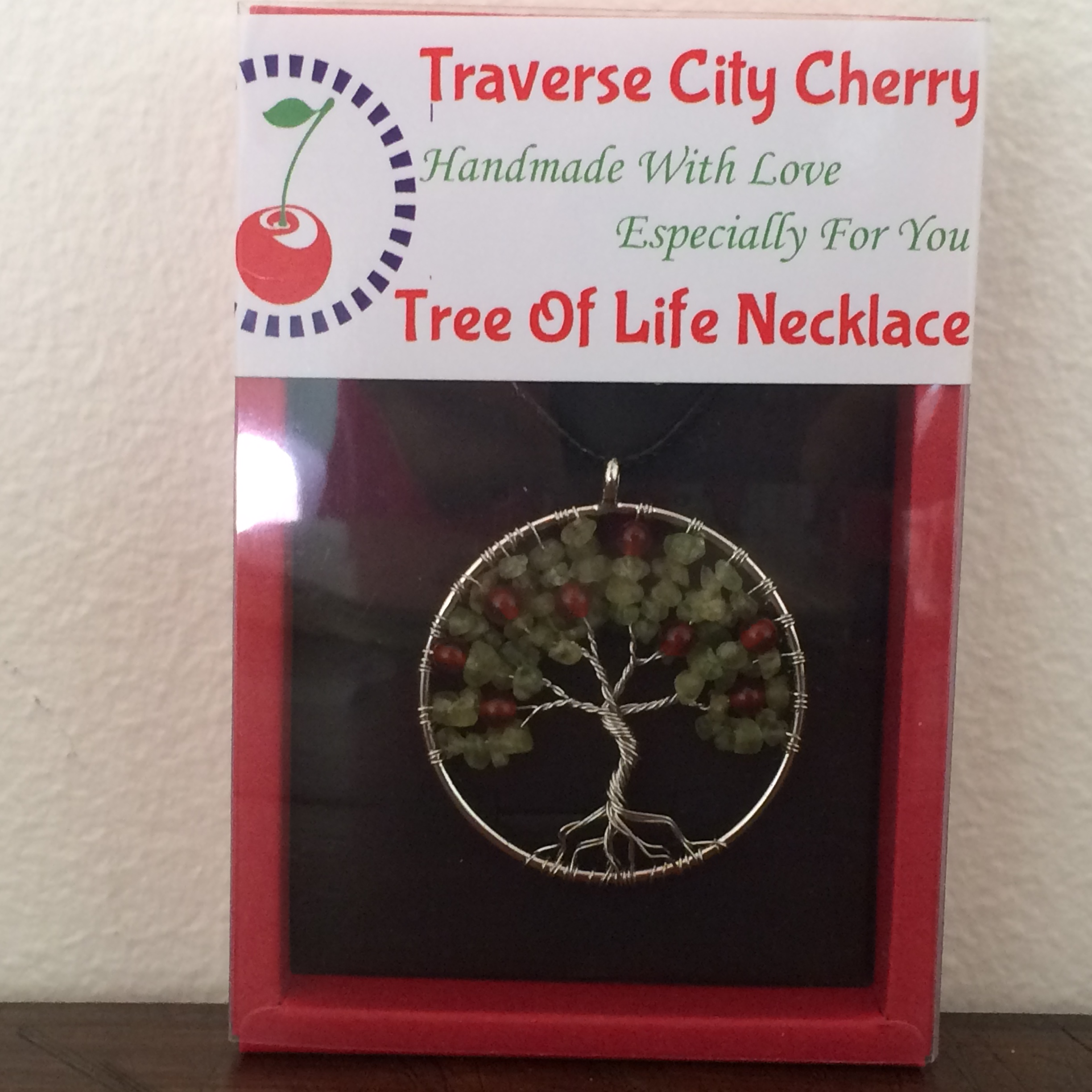 Cherry Tree of Life Necklace