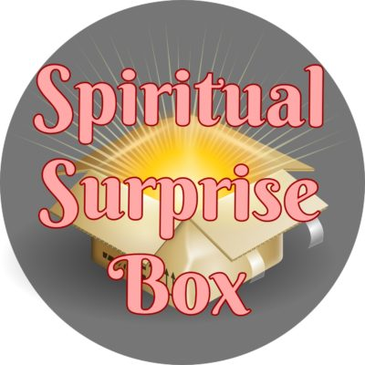 spiritual surprise box metaphysical mystery bag occult lucky gift package