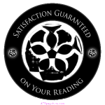 psychic website seal Satisfaction Guaranteed on your reading
